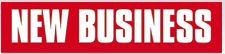 Logo der Zeitschrift New Business für die Seite Presseartikel